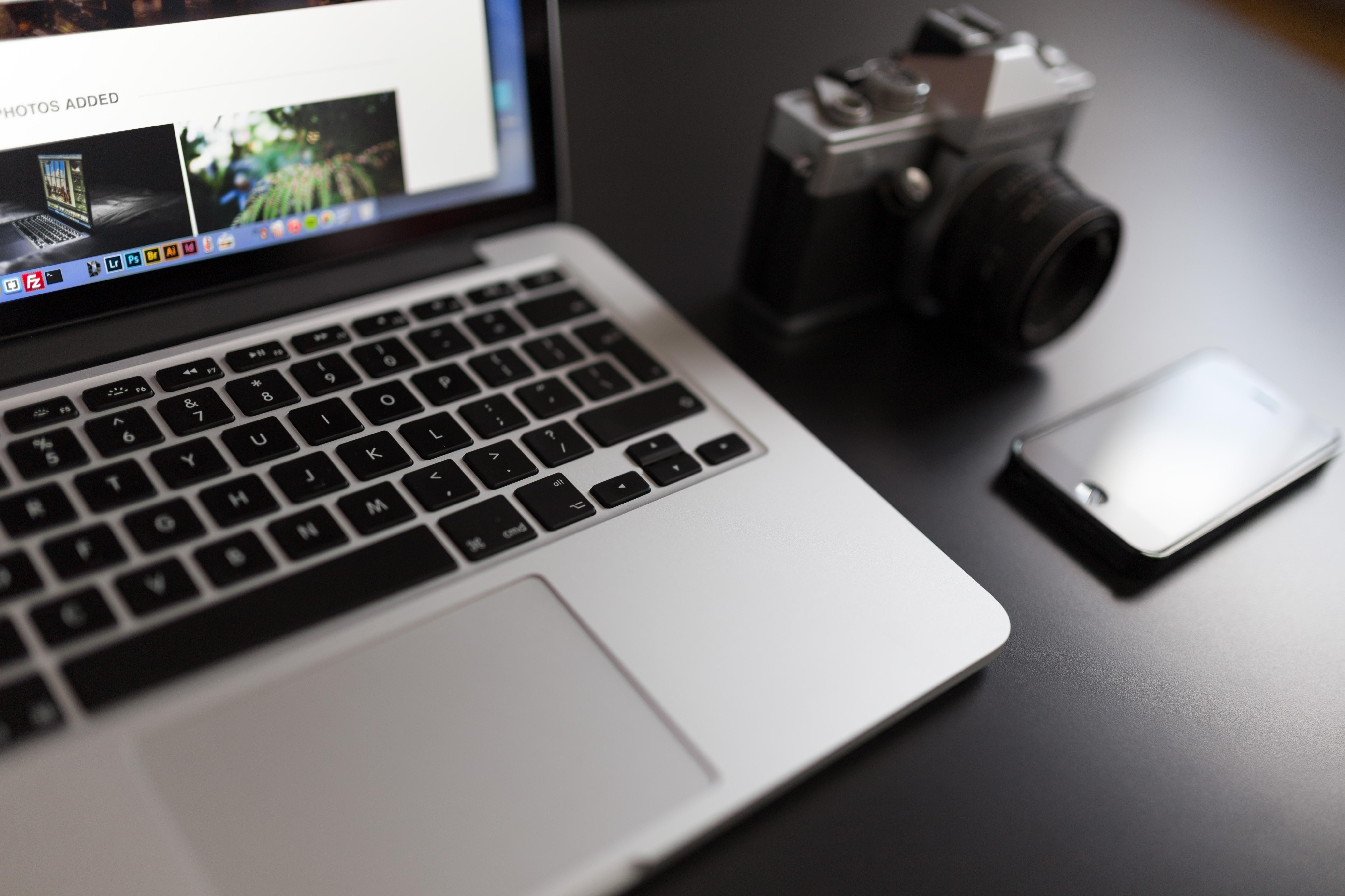 カメラとiPhone