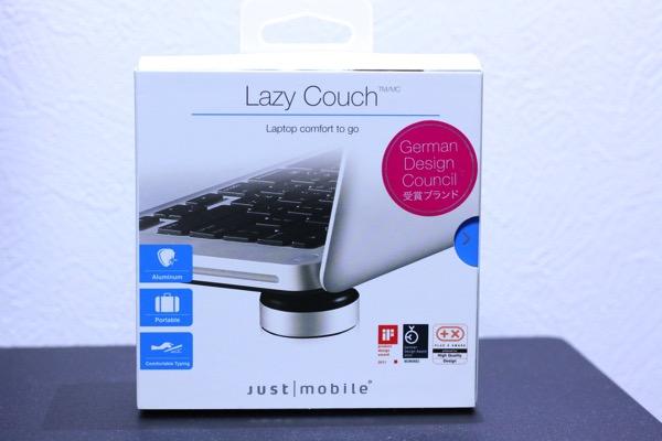 JustMobile LazyCouch アルミニウム製ノートPC冷却スタンド3