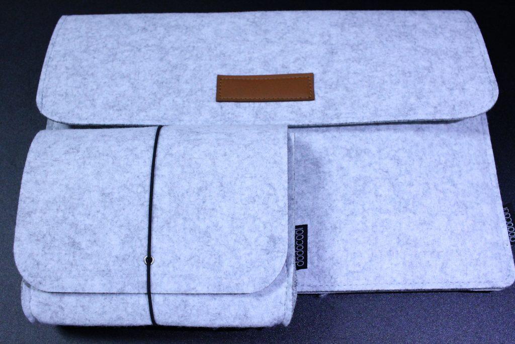 dodocoolのフェルト製MacBook用スリーブケース
