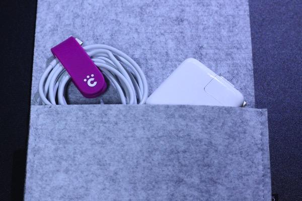 Dodocoolのフェルト製MacBook用スリーブケース7