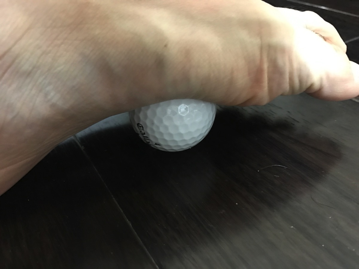 2つのゴルフボール2