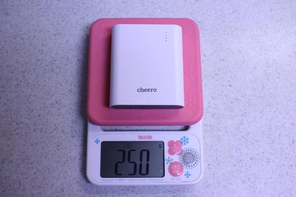 Cheeroのモバイルバッテリーを選んだ理由6
