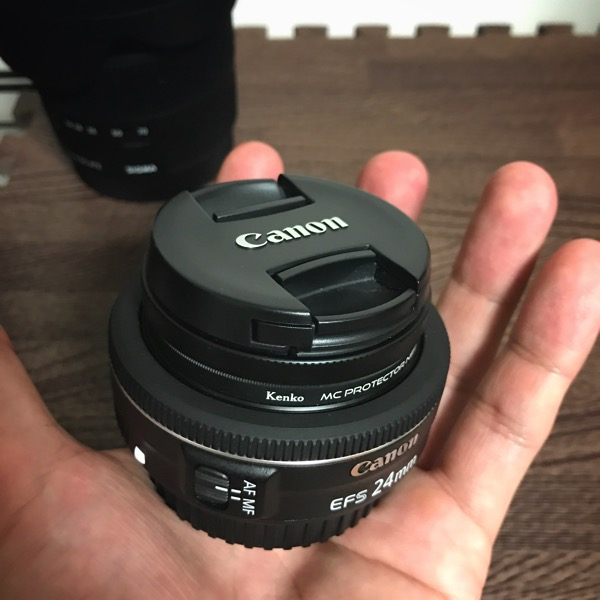 Canon 単焦点広角レンズ EF-S24mm F2.8 STM