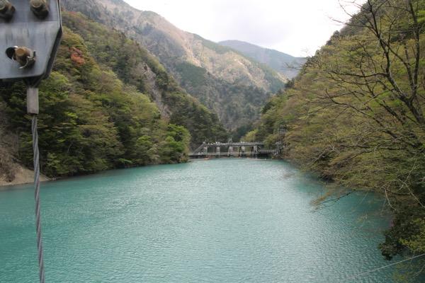 夢の吊り橋こと寸又峡へ H29 4月中旬 日曜午前の様子 4