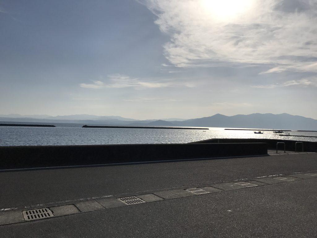 綺麗な海と空