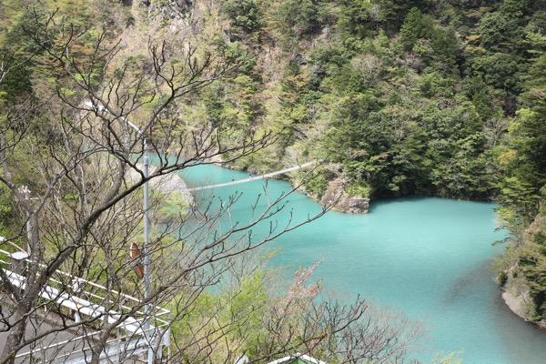 夢の吊り橋こと寸又峡へ H29 4月中旬 日曜午前の様子 11