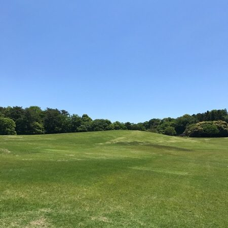 愛知県森林公園の丘