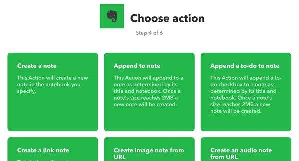Evernoteで毎日自動で新しいノートを作る方法15