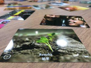 「結果」というPoints of You®のカード