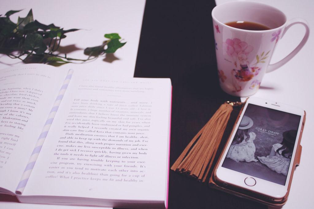 コーヒー飲みながら読書
