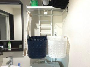 賃貸でも持ち家でも、収納スペースを増やすには洗濯機の上が狙い目!