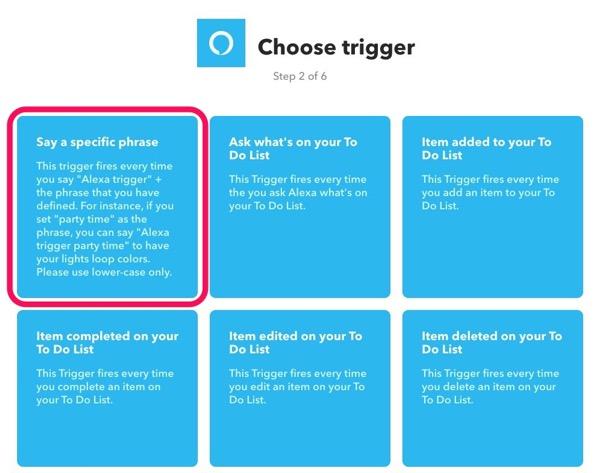 AmazonEchoでiPhoneを探す IFTTTで電話をかける 方法10