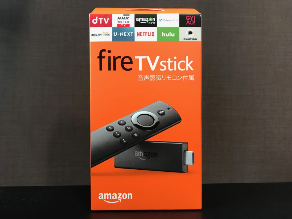 FireTV Stickをゲット!いまは動画視聴を、いずれはAmazon Echoと連携を!