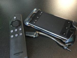 FireTV Stick純正リモコンは、iPhoneアプリ導入で断捨離できる!操作性もアプリの方が良い!