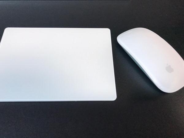 iMacの操作はトラックパッドのみ〜マウスは不必要だった〜