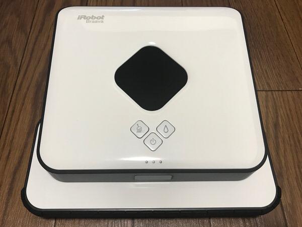 床拭きロボットのブラーバ(371j)