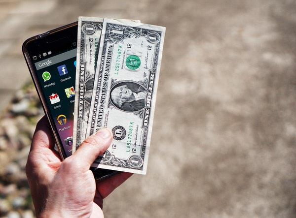 お金とスマホ